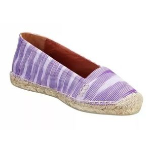 Missoni Espadrille Slip On Flats Sz 41
